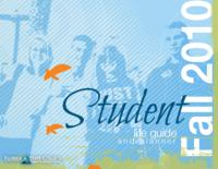 2010 Fall Student Life Guide and Planner