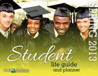 2013 Spring Student Life Guide and Planner