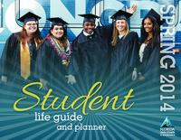 2014 Spring Student Life Guide and Planner