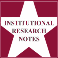Institutional Research Notes